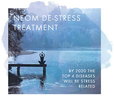 Neom De-Stress Treatment Graphic