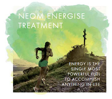 Neom Energise Treatment Graphic