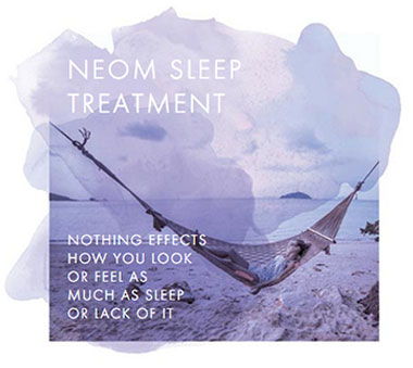 Neom Sleep Treatment Graphic