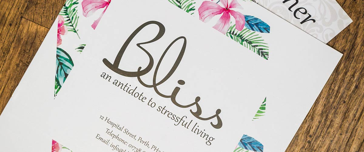 Bliss Salon Brochure
