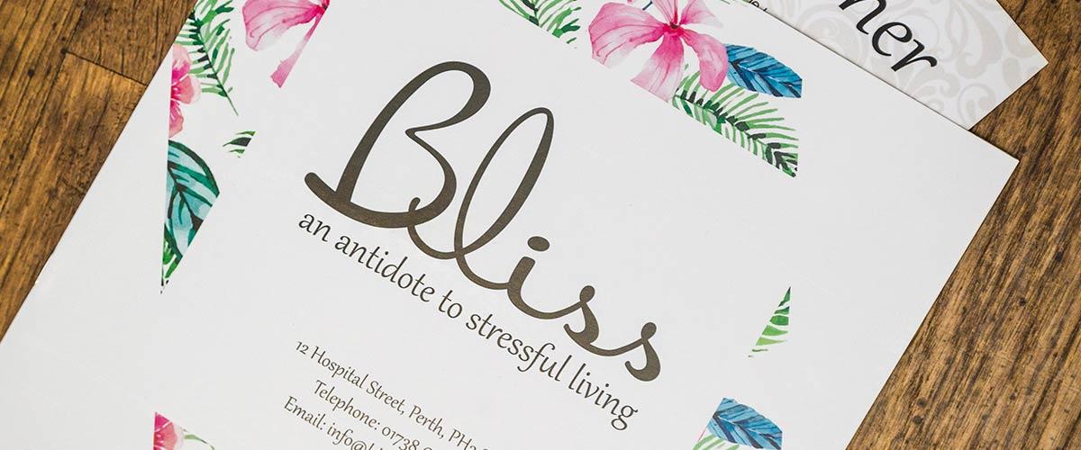 Bliss Salon Brochure